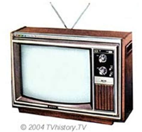 when were colored tvs invented television timeline the television a turning point in