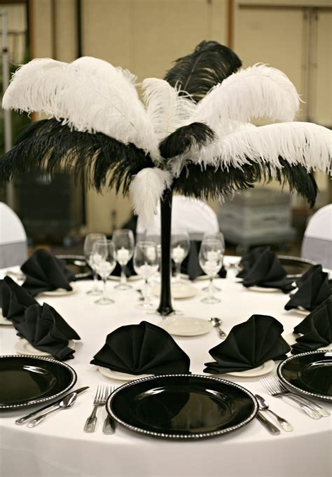 black feather centerpieces centerpieces baltimore s best events