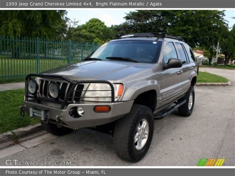 1999 jeep grand limited interior bright platinum metallic 1999 jeep grand