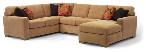 flexsteel sectional sofa flexsteel bryant contemporary sectional sofa with 3