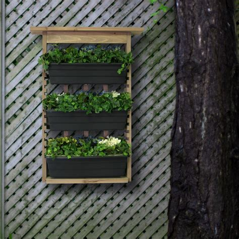 Wall Planters Uk by Save 20 Algreen 34002 Garden View Vertical Living