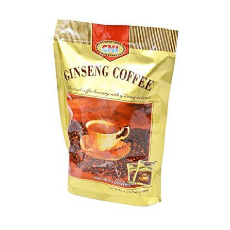 Cni Ginseng Coffee 20 Sachets cni junglekey image