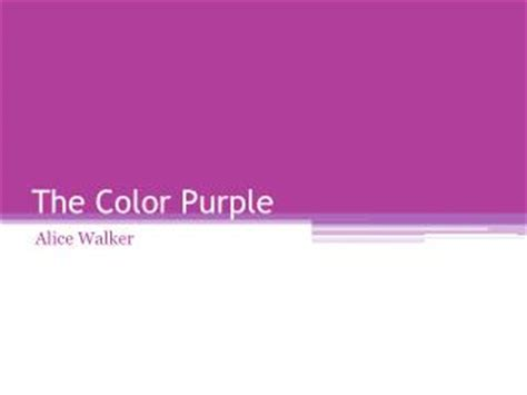 color purple summary ppt ppt the color purple walker powerpoint