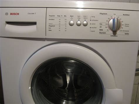 Waschmaschine Bosch Classixx 5 2473 by Ruempelstilzchen Bosch Waschautomat 24162 Classixx 5