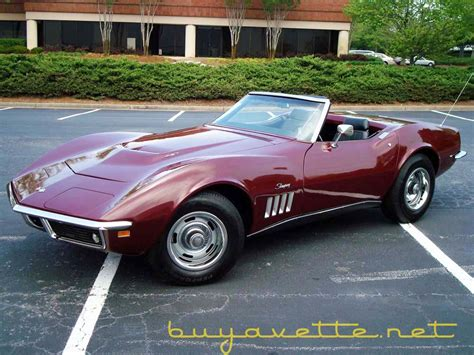 free service manuals online 1969 chevrolet corvette seat position control 1969 corvette 454 convertible for sale at buyavette 174 atlanta georgia