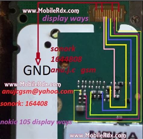 lcd nokia 105 by graha sparepart nokia 105 lcd ways jumper