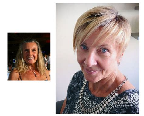 before and after haircuts for women short hair makeovers before and after