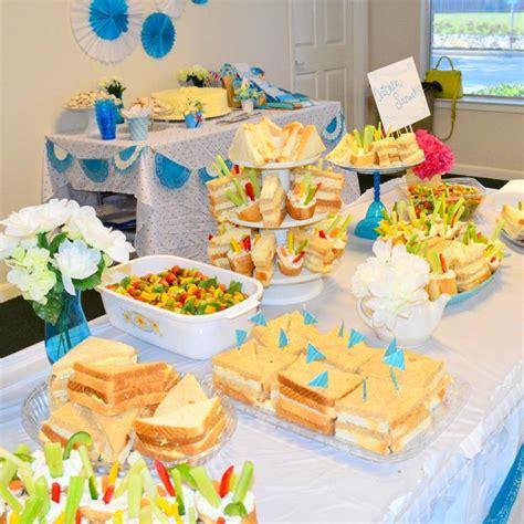 Finger Food For Bridal Shower by Finger Food Table Casual Bridal Shower Finger Foods