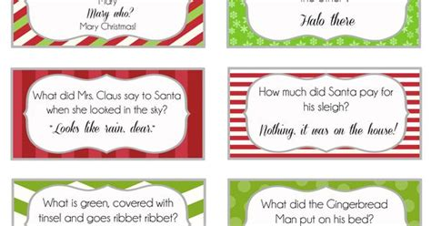 printable christmas joke cards overthebigmoon com elf on the shelf printable joke