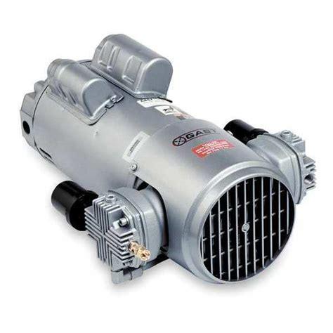 gast 6hca 12 m616nex piston air compressor 1hp 115 230v 1ph ebay