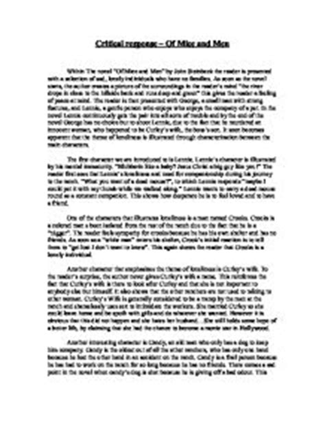 What Is A Critical Response Essay by Writing A Critical Response To An Essay B Gt Critical Analysis Paper Topics Hubpages