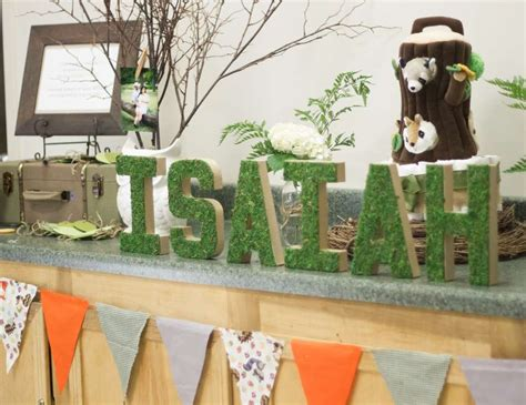 Forest Friends Baby Shower Decorations by Woodland Baby Shower Quot Forest Friends Quot Catch