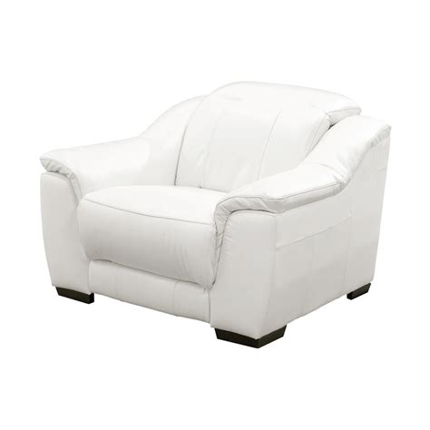 white leather recliner davis white power motion leather recliner el dorado