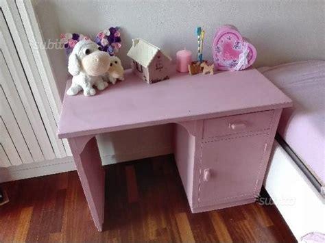 subito it scrivania scrivania bambina ragazza color rosa arredamento e