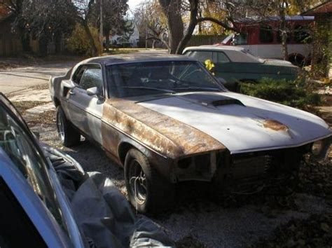 1969 mach 1 yard find american muscle car connection
