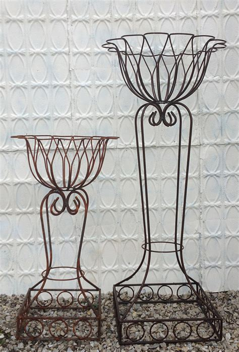 Dee Dee Wrought Iron Flower Planter 2 Sizes Wrought Iron Planter