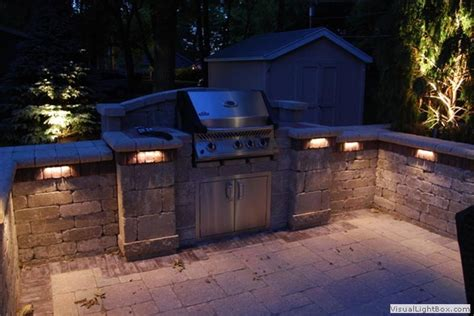outdoor kitchen lights led lighting