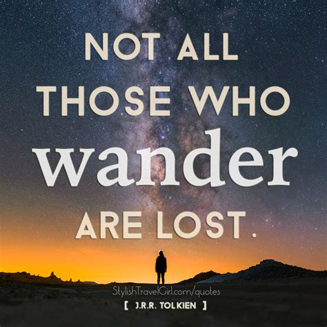 those who wander a collection of and inspirational travel quotes w