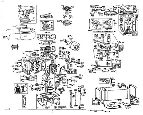 parts diagram for briggs stratton engine excellent 20 hp briggs and stratton engine diagram