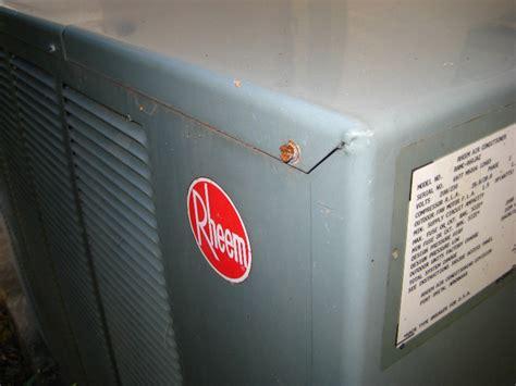 capacitor rheem ac unit rheem hvac condenser run capacitor replacement guide 008