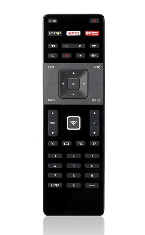 visio smart tv remote vizio xrt122 led hdtv remote brand new original