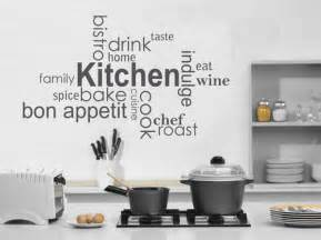 Kitchen Wall Vinyl Stickers Kitchen Vinyl Wall Lettering Quotes Quotesgram