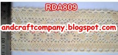 Renda Elastis Gelombang 1cm jual renda and s crafts
