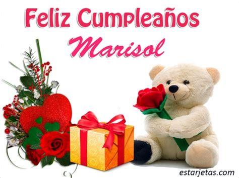 Imagenes Feliz Cumpleaños Marisol | feliz cumplea 241 os marisol 9 im 225 genes de estarjetas com