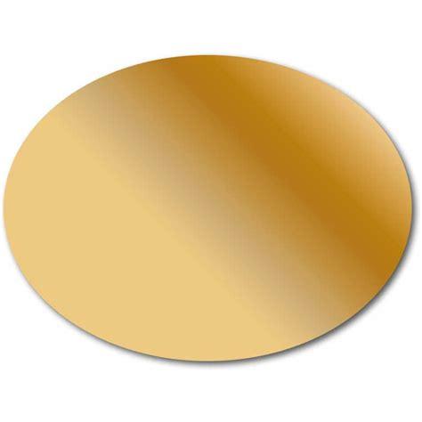 Etiketten Gold by Etiketten 64 X 48 Mm Oval Schaumermal24