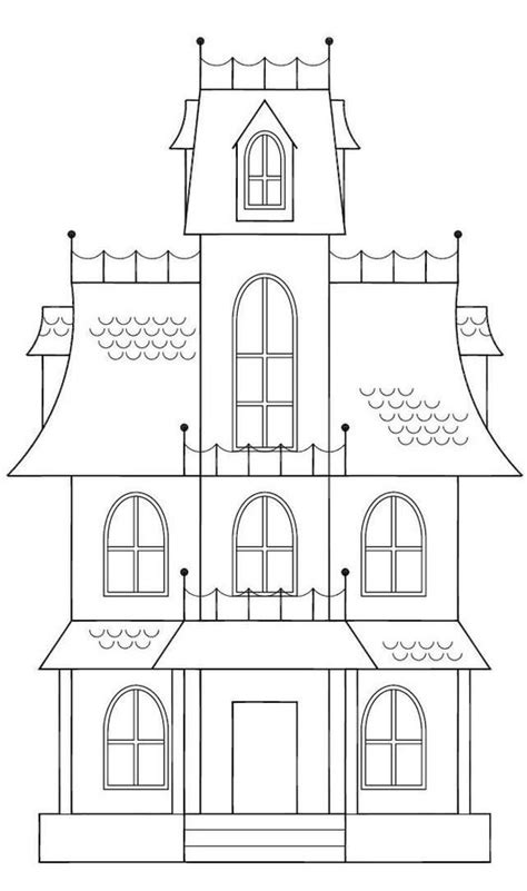 haunted house template best 25 spooky house ideas on pinterest halloween decorations for kids diy