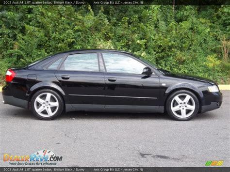 Audi A4 1 8t Black 2003 audi a4 1 8t quattro sedan brilliant black