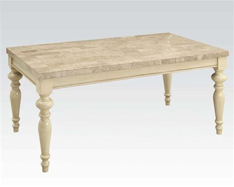 Antique White Dining Table antique white dining table by acme furniture ac71705