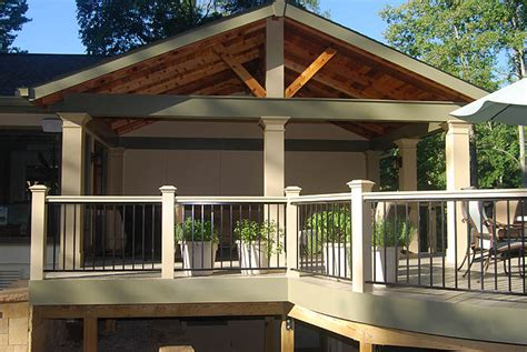 Open Gable Roof Atlanta Screened Porches Screen Porches Enclosed Porches