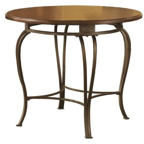 hillsdale montello 36 inch casual dining table in