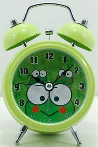 silent frog children boys desktop light bell alarm clock ebay