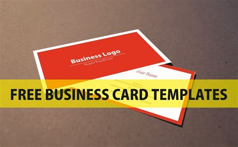 Templates For Business Cards Free free business card templates go search for tips