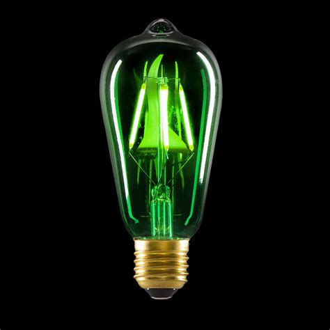 colored led bulbs cleveland vintage lighting green colored edison bulb