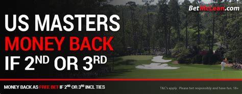 Masters Winning Money - us masters free bet competition betmclean com do you wanna bet
