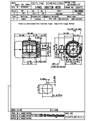 Westinghouse Electric Motors Wiring Diagram Impremedia Net