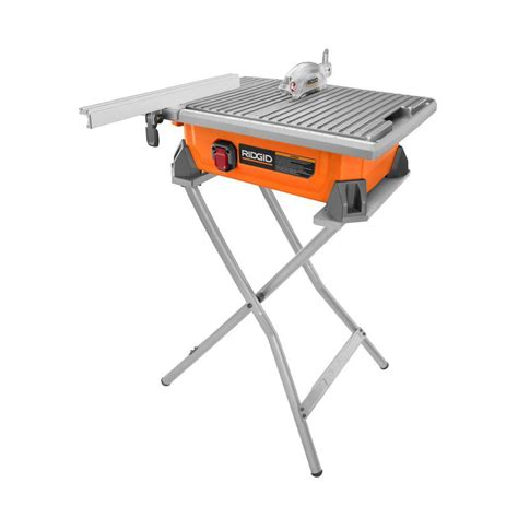 ridgid 120 volt 7 in table top tile saw r4021 the