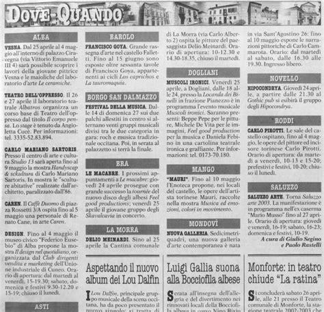 gazzetta d alba n 17 25 aprile 2006 al falchetto adelinda allegretti storico dell arte giornalista