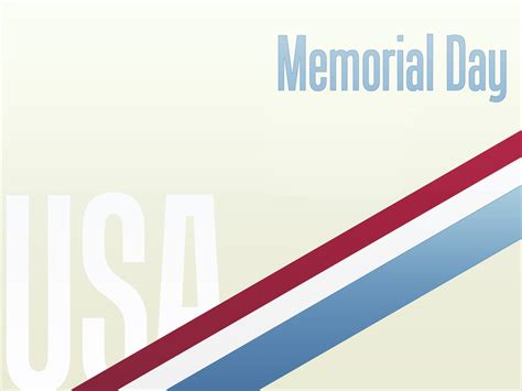 Free Download Memorial Day Powerpoint Backgrounds Templates And Wallpapers Ppt Garden Memorial Presentation Template