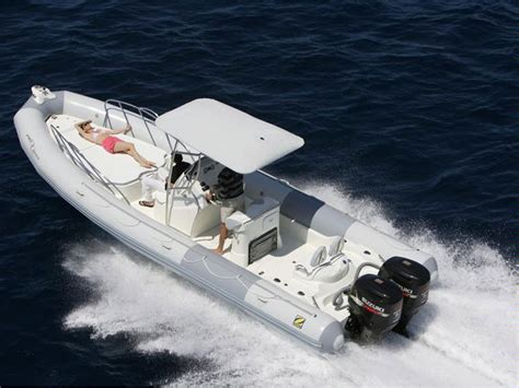 zodiac boat twin engine zodiac pro 850 optimum hold on to your hat boats