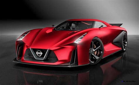 nissan gran turismo nissan nc2020 vision gran turismo red