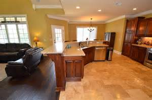 Open Kitchen Floor Plans Pictures by Open Floor Plan Craftsman Kitchen Other By Real