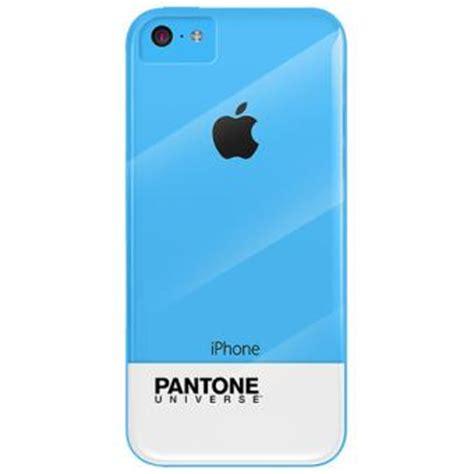 Casing Iphone 5c Promo M E coque scenario pantone universe pour iphone 5c bleue