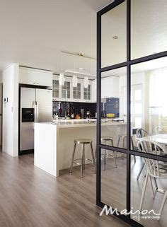 glass wall kitchen glass partition between kitchen dining area nice 3d