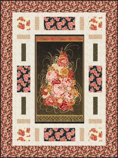 fabric pattern with holes 216 best quilts made with panels images on pinterest