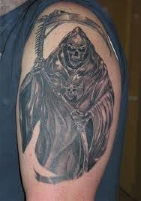 grim reaper tattoo meaning title grim reaper designs ideas and meanings
