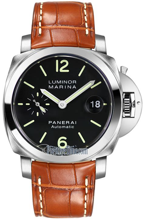 panerai luminor marina pam00048 panerai luminor marina automatic 40mm mens